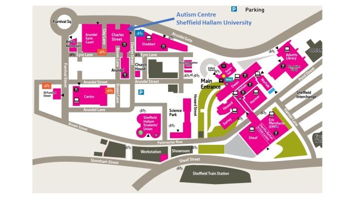 Autism Centre Map